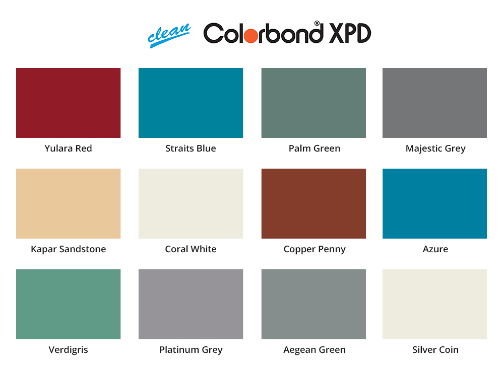 colorbond xpd
