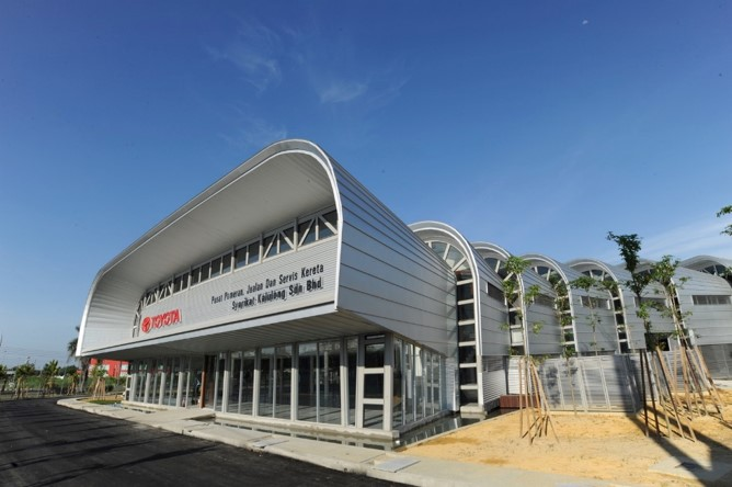 Toyota 3S Showroom Sibu of Kallulong Sdn Bhd