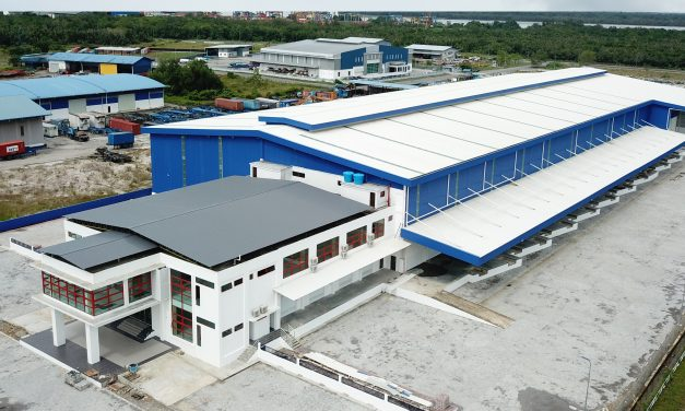 Warehouse of Integrated Logistic Complex